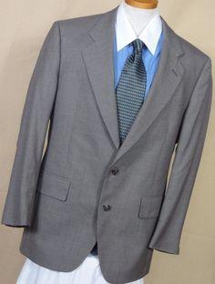 Jos A Bank Men's Wool Houndstooth Plaid 2 Button Multi-Color Suit Size 42R #JosABank #TwoButton