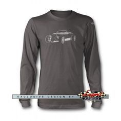 1934 Ford Coupe Hi Boy 3/4 Front Long Sleeves T-Shirt  Refined and stylish, it is a perfect way to show your passion for truly legendary car.  Available in  Black   Charcoal  Military Green Forest Green  Cherry Red Indigo  Navy Blue and in S  M  L  XL  2XL 3XL size.  US  American  Car  Vehicle  Automotive  Classic  Vintage  Muscle  Sport   Legend Lines  Men  Man  Father  Husband  Dad  Son  Grandpa  Friend  Driver   Collector    Racer  Mechanic  Gift  Christmas  Birthday