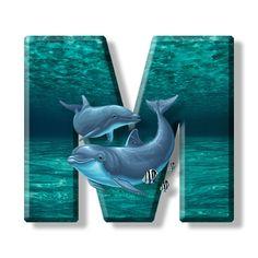 Buchstabe - Letter M Monogram Alphabet, Alphabet And Numbers, Monogram Logo, Letter B, Letter Logo, Flat Logo, Cool Lettering, Delphine, Creative Logo