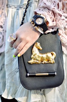 pony purse... I'm pretty sure I was meant to have this!