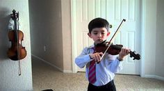 Suzuki Violin Book 1 Recital Part 7: Minuet 3 & Happy Farmer—See more of this young violinist #from_tequilayoung