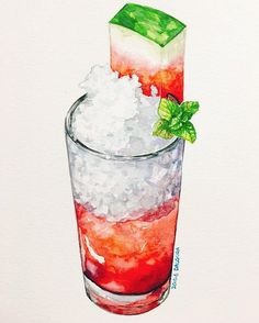 Read Drinks from the story Picture book by Pardon_ssi (짱) with 817 reads. very, kpop, anime. Watercolor Food, Watercolor Illustration, Watercolor Paintings, Watercolour, Arte Do Kawaii, Food Sketch, Food Painting, Food Drawing, Food Illustrations