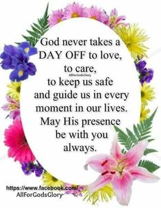God never takes a day off quotes religious god life morning good morning good morning quotes good morning images good morning wishes Blessed Morning Quotes, Good Morning Friends Quotes, Good Afternoon Quotes, Good Morning Beautiful Quotes, Good Morning Prayer, Good Day Quotes, Good Morning Inspirational Quotes, Morning Greetings Quotes, Morning Blessings