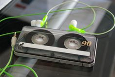 iPhone cassette case