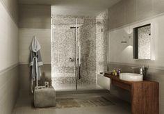 Ceramica Sant\'Agostino - Bagno : Contemporaneo baño piso inferior ...