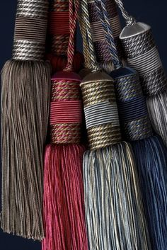 key tassels from The House of Passementerie