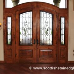 Double Doors With Sidelights
