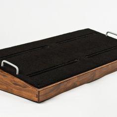 Custom Walnut Pedal Board - Salvage