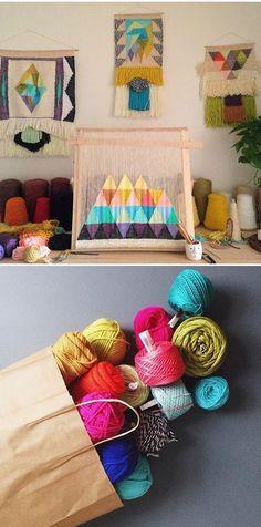 @derryerkan shares the beautiful weaving work of @maryannemoodie