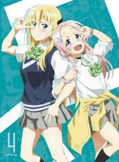 Tendou Karen and Aguri - Gamers! Manga Anime, Anime Art, Heroes United, Tales Of Berseria, Otaku, Videogames, Gamers Anime, Deadman Wonderland, Anime Recommendations