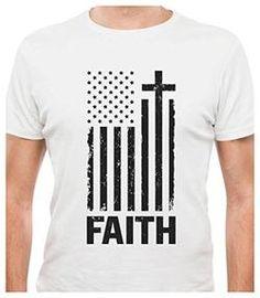81acf8652 USA Flag - Cross Have Faith T-Shirt Usa Flag, Athletic Tank Tops,