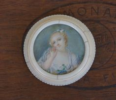 Antique French 19th Century IvoryFramed by LaComtesseDeTalaru