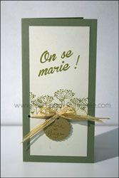 Faire-part de mariage - On se marie ! (Nature)