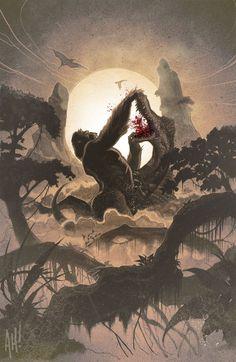Kong of Skull Island #1 (NYCC Cover)   Fresh Comics