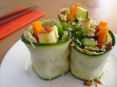 Way better than the quintessential avo roll, these Zucchini Sushi Rolls are straight-up gourmet (and spicy to boot).