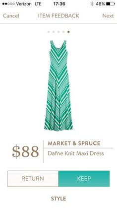 Market & Spruce Dafne Knit Maxi Dress - I would try it in any color