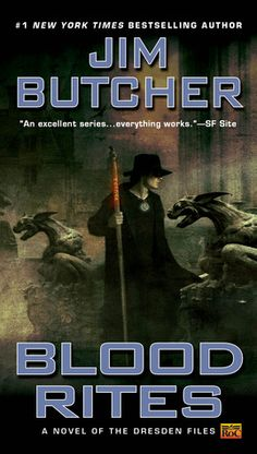 Blood Rites (The Dresden Files, Book #6) | Jim Butcher  05.10.13 (accidentally read this book before Death Masks - Reading Death Masks now!)