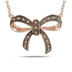10K Pink Gold 0.05 CT Brown Diamond Necklace With Chain Delmar UK http://www.amazon.co.uk/dp/B005NJ2YZM/ref=cm_sw_r_pi_dp_qEGJub0EKVAQW