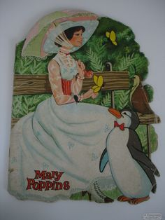 cuento troquelado mary poppins edigraft disney