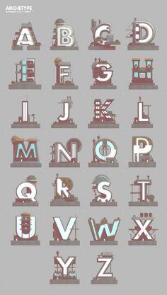 Archetype (Typography Experiment)