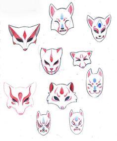 Картинки по запросу kitsune mask