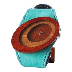 Our Orbit women's wood watch is perfect for any season. Our watches are made from reclaimed wood, genuine leather, and suede. Most of the materials used to make our watches come from carpenters' shops