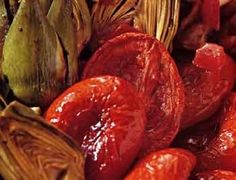 Oven-dried Tomatoes With Plum Tomatoes, Olive Oil Oven Dried Tomatoes, Plum Tomatoes, Roasted Tomatoes, Paleo Keto Recipes, New Recipes, Vegetarian Recipes, Favorite Recipes, Easy To Make Dinners, Meals In A Jar