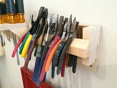 French cleat plier rack