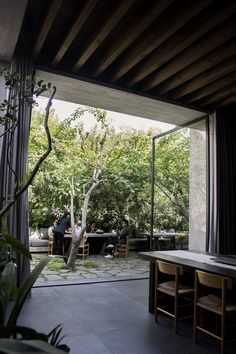 The Hidden Dimension — Openhouse Magazine Critical Regionalism, Urban Setting, Interior Styling, New England, Interior Architecture, Living Spaces, Pergola, Outdoor Structures, Patio