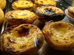 pasteis de nata. My favorite pastry in the whole world.