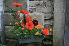 garden themed garden planter