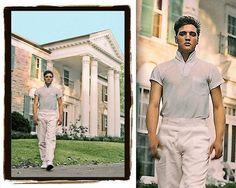 1957  Elvis Presley at Graceland  By Michael Ochs  A by TonyArmato