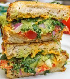 avocado cheese sandwiches...