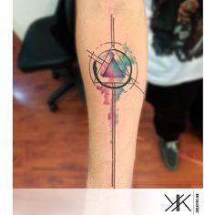 #armtattoo by @kk_creative_ink /// #Equilattera #Miami #Tattoo #Tattoos #Tat #Tatuaje #tattooed #Tattooartist #Tattooart #tattoolife #tattooflash #tattoodesign #tattooist #tattooer #tatted #tattedup #tattoooftheday #instatattoo #ink #colorful #color #art #linework #dotwork #original #watercolortattoo #watercolor #colortattoo #geometrictattoo  Posted by @WazLottus