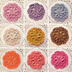 mini-doily pins by Lisa | goodknits, via Flickr