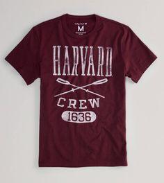 Harvard Vintage Crew T