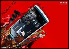 Nokia X6 Advertisement on Behance