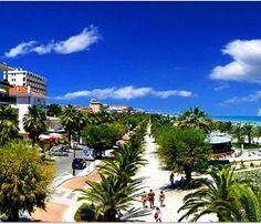 San Benedetto Del Tronto, Italy    gorgeous beachfront resort on the Adriatic Sea.