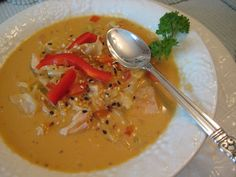 Thai Chicken Cabbage Soup - QUICK and TASTY!