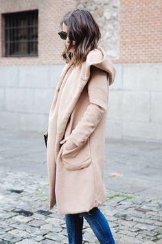 NUDE COAT - http://www.collagevintage.com/2014/02/nude-coat/