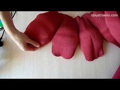 СУПЕР большие цветы из бумаги. Розы (часть I) - YouTube