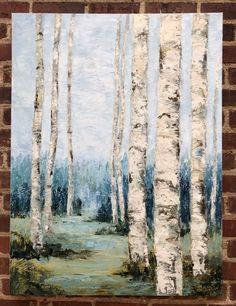 """Venture In"" Oil on Canvas Aspen Trees, Golden Leaves, Rocky Mountains, Serenity, Oil On Canvas, Original Art, Fine Art, Artist, Painting"