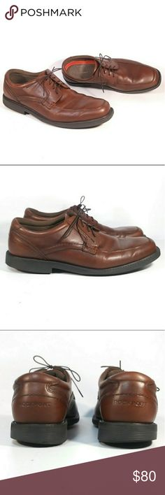 d0037e68321 ROCKPORT Style Leader 2 Apron Toe Size 9.5 M   BX2059. Mens Dress Shoe.
