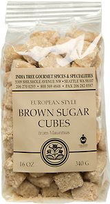 India Tree | Brown Sugar Cubes | Pack 1lb | Ingredient: unrefined cane sugar | One cube (10g) provides 40 calories | 97-99% sucrose | Use it with coffee and tea | Serve them on special occasions | They make a stunning presentation in a glass or silver bowl | Product of Mauritius, where 90 percent of the land devoted to agriculture is planted with sugar cane | #canesugar #fairtrade #kosher #nonGMO #BrownSugar #nongmosweetener #fairtradesweetener #frommauritius #indiatree