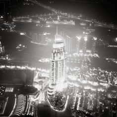 The Address - Study 2, Dubai, United Arab Emirates, 2011 (b/w photo) / Photo © Ronny Behnert / Bridgeman Images
