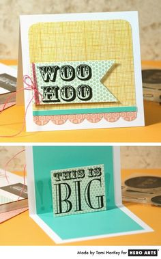 Hero Arts Cardmaking Idea: This Is Big