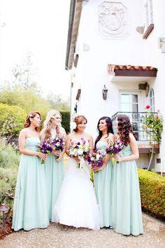 48 Delicate Mint And Lavender/Purple Wedding Ideas | HappyWedd.com