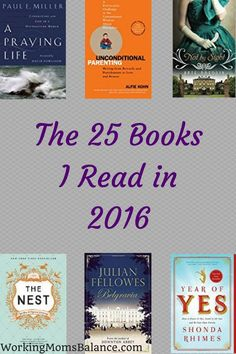 This year I read 25 books. Here is the list as well as my comments and rating for each.