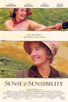 Sense and Sensibility (1995) - Every woman should see this. A truly delightful adaption of this lovely Jane Austen novel.