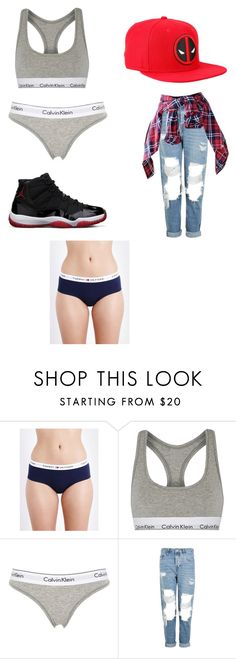 """""""Untitled #74"""" by itsghita ❤ liked on Polyvore featuring Tommy Hilfiger, Calvin Klein Underwear, Topshop and Marvel"""